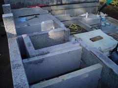 【03】墓石の組立
