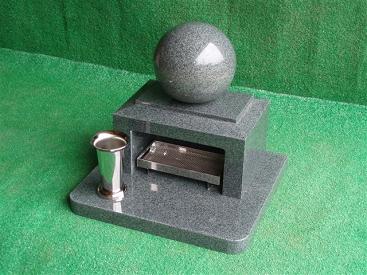 高級赤御影石のペットのための墓石